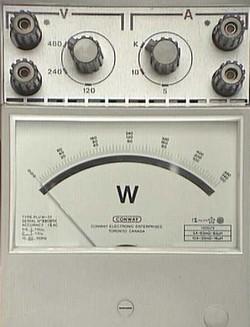 wattímetro
