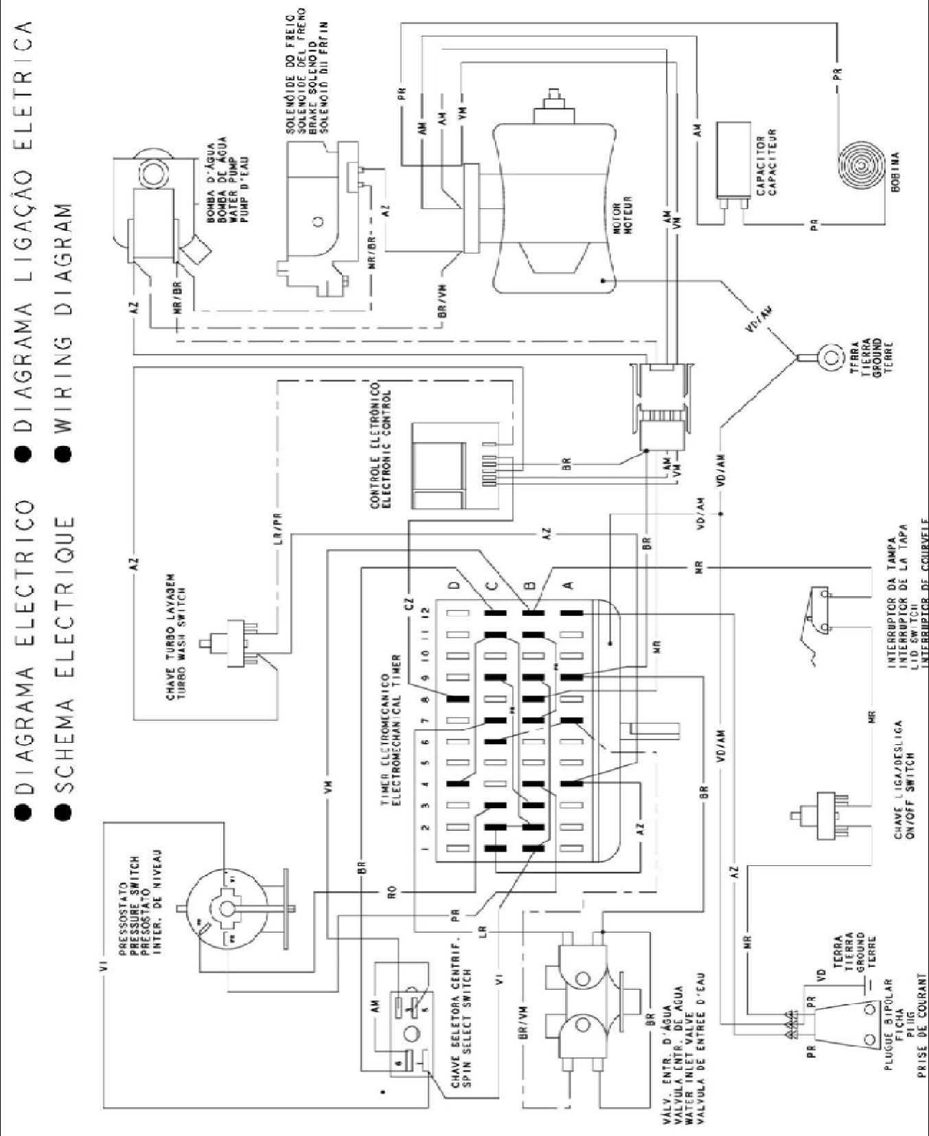 esquema electrico freezer neba f400 horizontal mod viejo