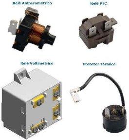 componentes geladeira